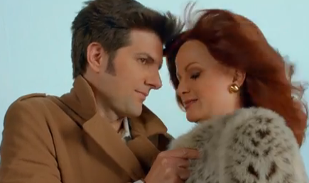 Amy Poehler, Adam Scott Re-Create Opening Credits to 'Hart to Hart' (Video)