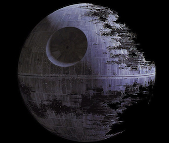 'Star Wars' Galactic Empire Criticizes the White House over Death Star Decision