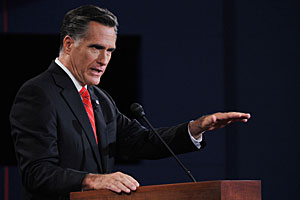 Romney Wins Big Bird Debate as Obama Is as Visible as Snuffleupagus