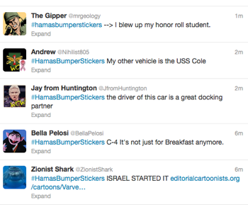 Gaza Humor as Twitter Hits Israel Conflict: 'What's the Martyr With You?'