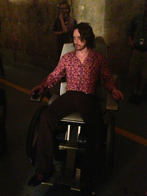James McAvoy's Groovy New Look in 'X-Men: Days of Future Past' (Photo)
