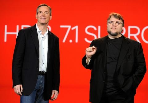 Guillermo Del Toro, Microsoft Crash Qualcomm's CES Opening