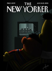 The New Yorker's Take on DOMA: Great for Sesame Street's Bert and Ernie