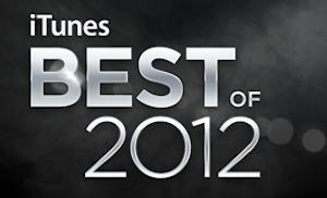 Apple Names 2012's List of Favorite Media on iTunes