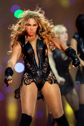 Beyonce's Super Bowl Leather Has PETA in a Lather