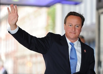 'Letterman' to Host British Prime Minister David Cameron