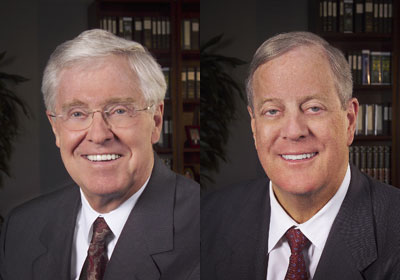 Koch Brothers, Right-Wing Ideologues, Serious About Tribune, L.A. Times Bid