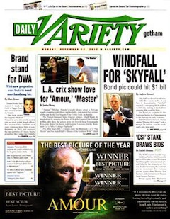 Variety to Publish Final Print Edition on Tuesday