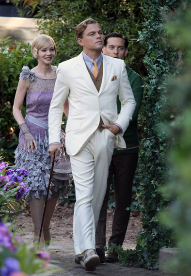 A Peek at Baz Luhrmann's 'Great Gatsby' - Sumptuous 3D, Dreamy Leonardo DiCaprio