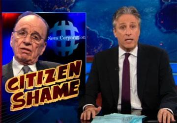 Jon Stewart on Rupert Murdoch: Don't S--t on My Chest and Tell Me It's Vegemite (Video)