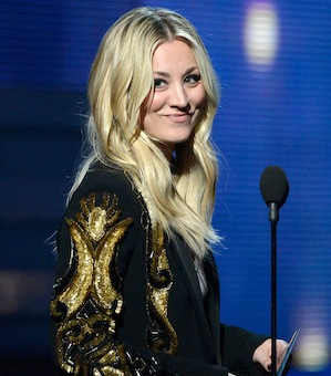 Kaley Cuoco Hosting Academy of Television Arts & Sciences' Hall of Fame Ceremony