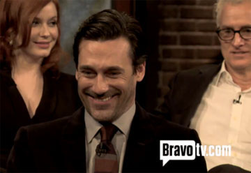 'Mad Men' Star Jon Hamm: Not Sexy Enough to Be Don Draper? (Video)