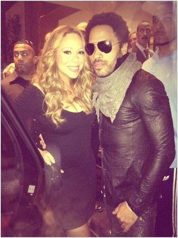 Mariah Carey Lobbies for Lenny Kravitz in 'American Idol' Judge Search