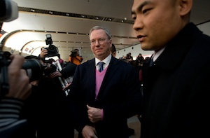 Google CEO Eric Schmidt Urges North Korea to Open Up to Internet