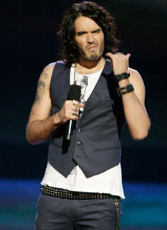 Russell Brand Hosting MTV Movie Awards