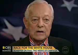 Bob Schieffer on Debate Criticism: 'This Is Their Campaign'