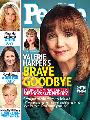 Valerie Harper Has Brain Cancer, May Have Just 3 Months to Live