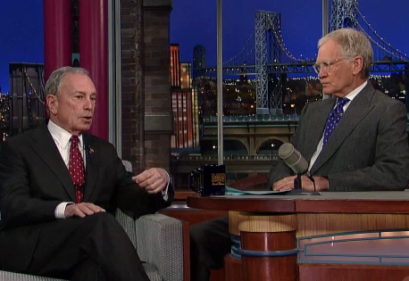 Bloomberg Tells Letterman He'll Appeal Soda Ban Decision, Vows to Leave Cheez-Its Alone