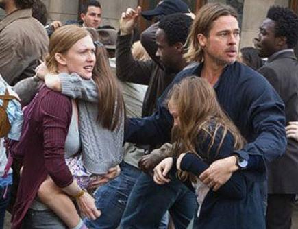 CinemaCon: Brad Pitt Battles Zombie Pandemic in 'World War Z' Sneak Peek