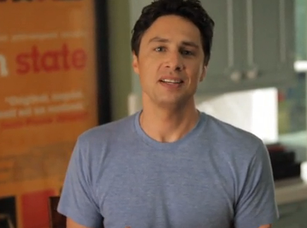 Zach Braff Launches Kickstarter Campaign to Fund 'Garden State' Follow Up