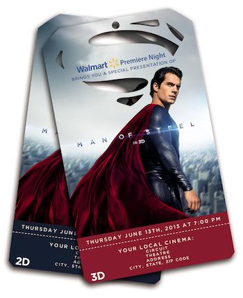 'Man of Steel,' Walmart Partner for 1-Day-Early Screenings