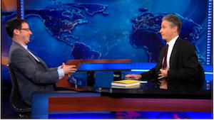 Jon Stewart Dubs Nate Silver 'God of the Algorithm' (Video)