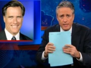 Jon Stewart on Mitt Romney Taxes: That $10,000 Bet Makes More Sense Now (Video)