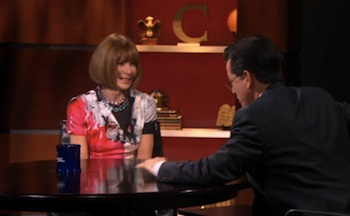 Anna Wintour: 'There Were Tears in the Office of Vogue' for Gay Marriage (Video)
