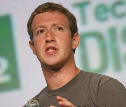 Facebook CEO Mark Zuckerberg Plummets on Forbes' 'Richest Americans' List