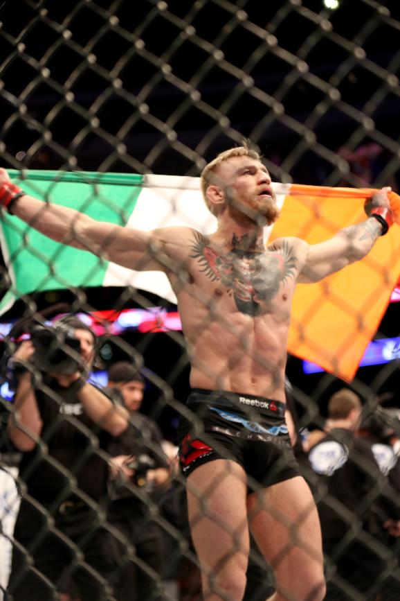 Conor McGregor isn't shy about his skills heading into UFC 189. (AP)