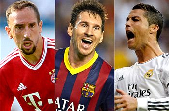 Vote none of the above! Messi, Ronaldo and Ribery is the wrong Ballon d'Or shortlist