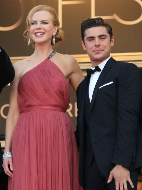 Nicole Kidman and Zac Efron step out at the screening of 'The Paperboy' presented in competition at the 65th Cannes film festival in Cannes, France on May 24, 2012 -- Getty Premium