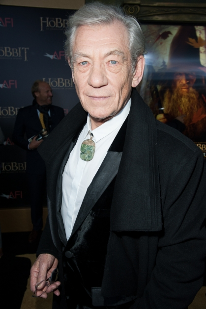 Ian McKellen attends 'The Hobbit: An Unexpected Journey' New York premiere benefiting AFI at Ziegfeld Theater on December 6, 2012 in New York City -- Getty Images