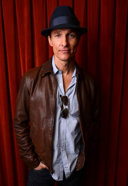 Matthew McConaughey poses for a portrait at the 'Mud' screening at the 2013 SXSW Music, Film + Interactive Festival at The Paramount Theatre in Austin, Texas on March 10, 2013 -- Getty Images