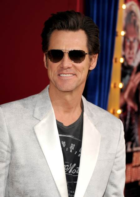 Jim Carrey attends the premiere of Warner Bros. Pictures' 'The Incredible Burt Wonderstone' on March 11, 2013 in Hollywood, Calif. -- Getty Images