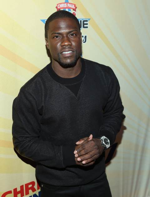 Kevin Hart attends the 2013 Chris Paul PBA League All-Stars Invitational Bowling Tournament at Lucky Strike Lanes at L.A. Live on January 7, 2013 in Los Angeles, Calif. -- Getty Premium