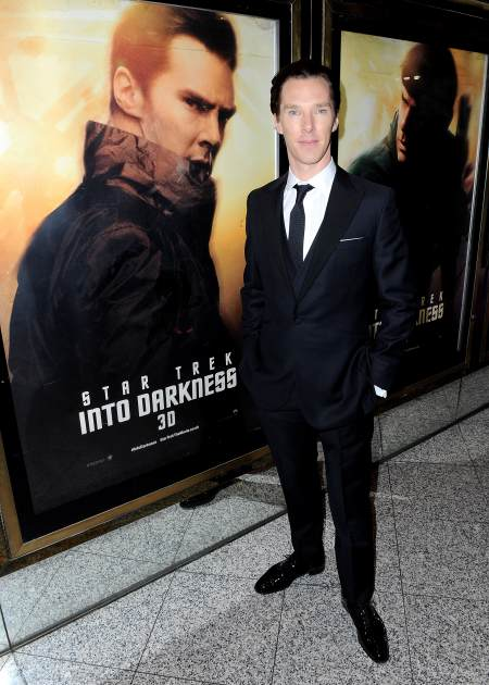 Benedict Cumberbatch attends the 'Star Trek Into Darkness' UK Premiere at the Empire Leicester Square, London, on May 2, 2013 -- Getty Images