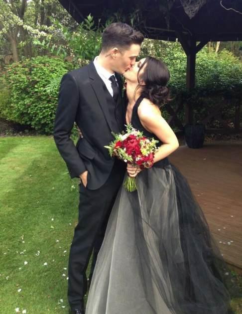 Josh Beech and Shenae Grimes wedding photo -- TwitPic