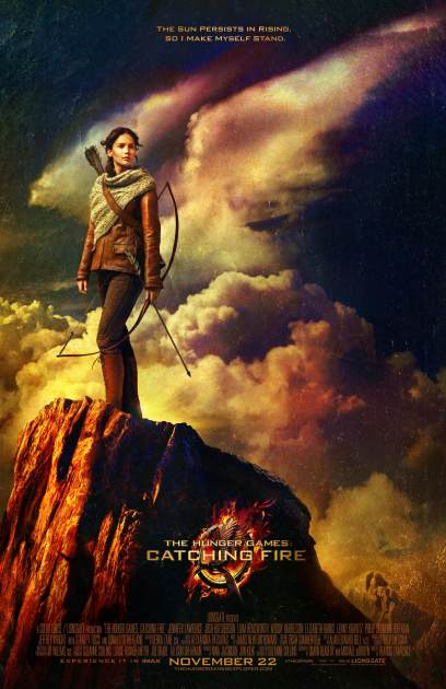 'The Hunger Games: Catching Fire' first official poster, May 2013 -- Lionsgate