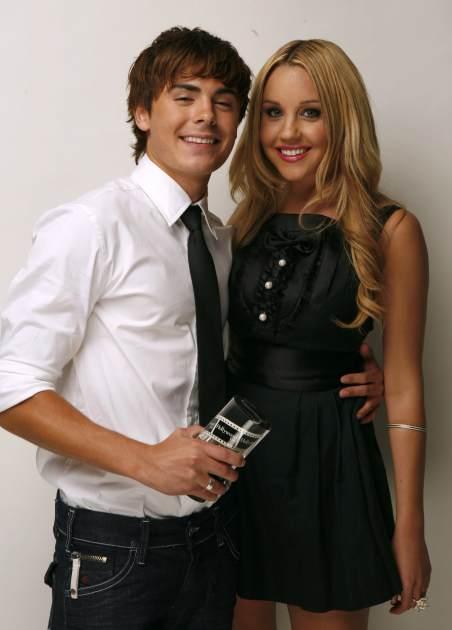 Zac Efron and Amanda Bynes in 2007 -- Getty Premium