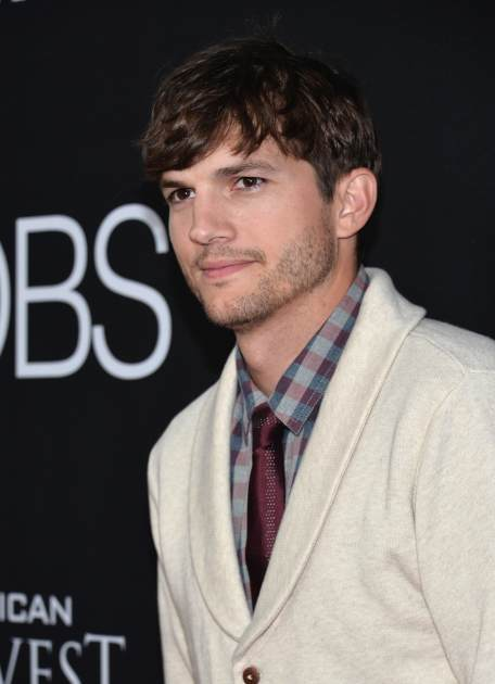 Ashton Kutcher attends the screening of Open Road Films and Five Star Feature Films' 'Jobs' at Regal Cinemas L.A. Live on August 13, 2013 in Los Angeles -- Getty Images