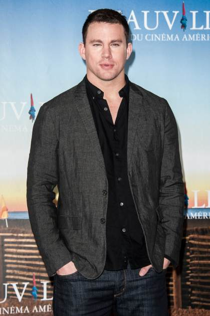 Channing Tatum poses during a photocall for the film 'White House Down' during the 39th Deauville American film festival on September 1, 2013 in Deauville, France -- Getty Images
