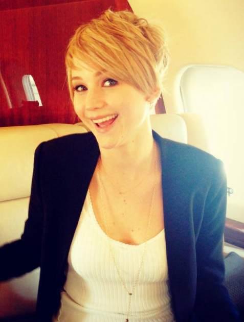 Jennifer Lawrence -- Facebook