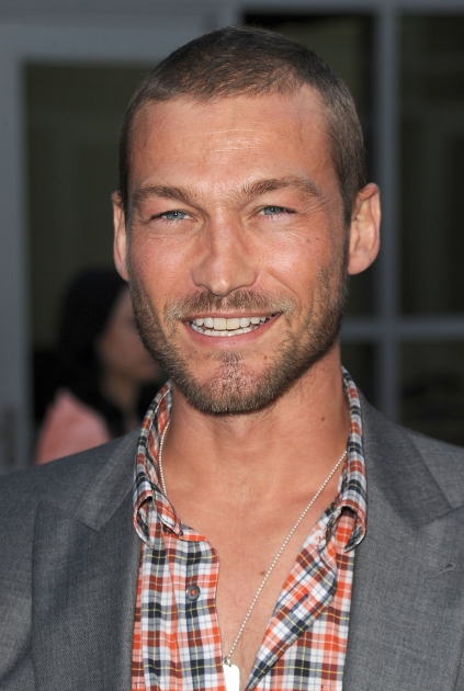 "Andy Whitfield arrives at the premiere of Paramount Pictures' ""Middle Men"" in Los Angeles on August 5, 2010 -- Getty Images"