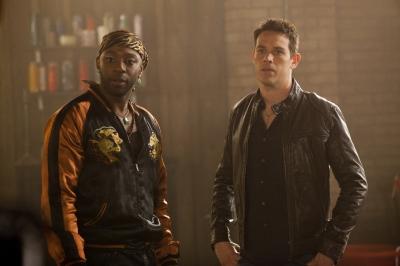 """Nelsan Ellis and Kevin Alejandro as Lafayette and Jesus in """"True Blood"""" Season 4 -- HBO"""