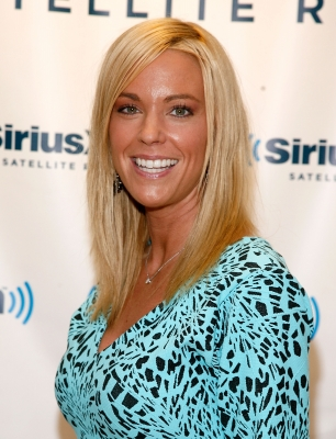 Kate Gosselin visits Raw Dog Comedy's 'The Phone Show' at SiriusXM Studio in New York City on October 27, 2011 -- Getty Images