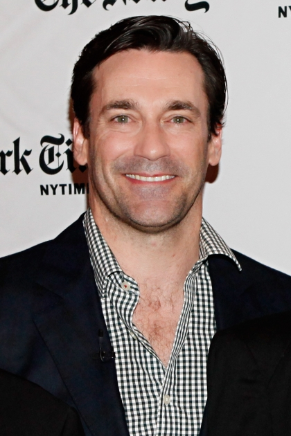 Jon Hamm attends the TimesTalk: A Conversation with the Cast of 'Mad Men' at The Times Center in New York City on March 20, 2012 -- Getty Images