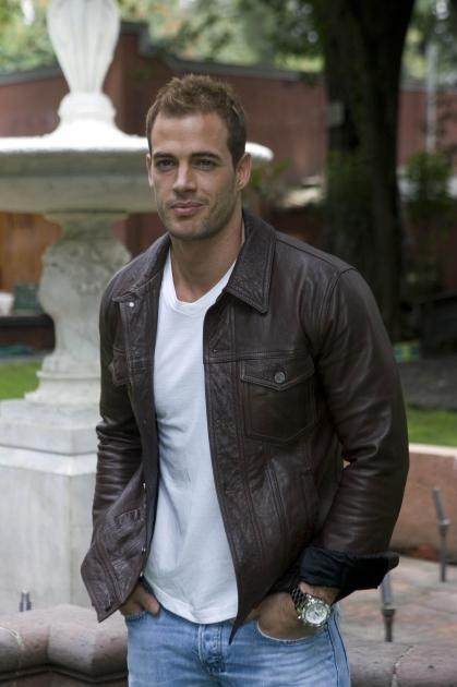 William Levy poses for a photo during the beginning of the recordings of the soap opera El Triunfo del Amor, Mexico City, on September 7, 2010 -- Getty Premium
