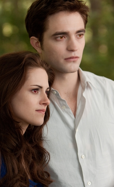 Kristen Stewart and Robert Pattinson in a scene from 'Twilight Saga: Breaking Dawn - Part 2' -- Summit Entertainment