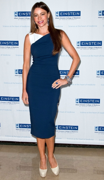 Sofia Vergara attends the Spirit Of Achievement Luncheon at The Plaza Hotel in New York City on May 9, 2012 -- Getty Images